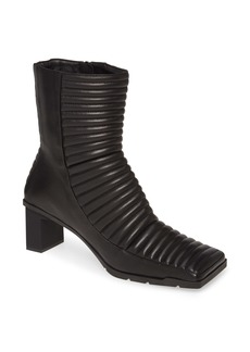 Balenciaga Channel Quilted Bootie (Women)