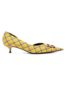Balenciaga Checked BB pumps