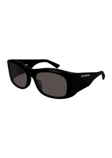 Balenciaga Chunky Rectangle Sunglasses