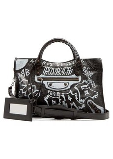 Balenciaga Classic City Graffiti bag