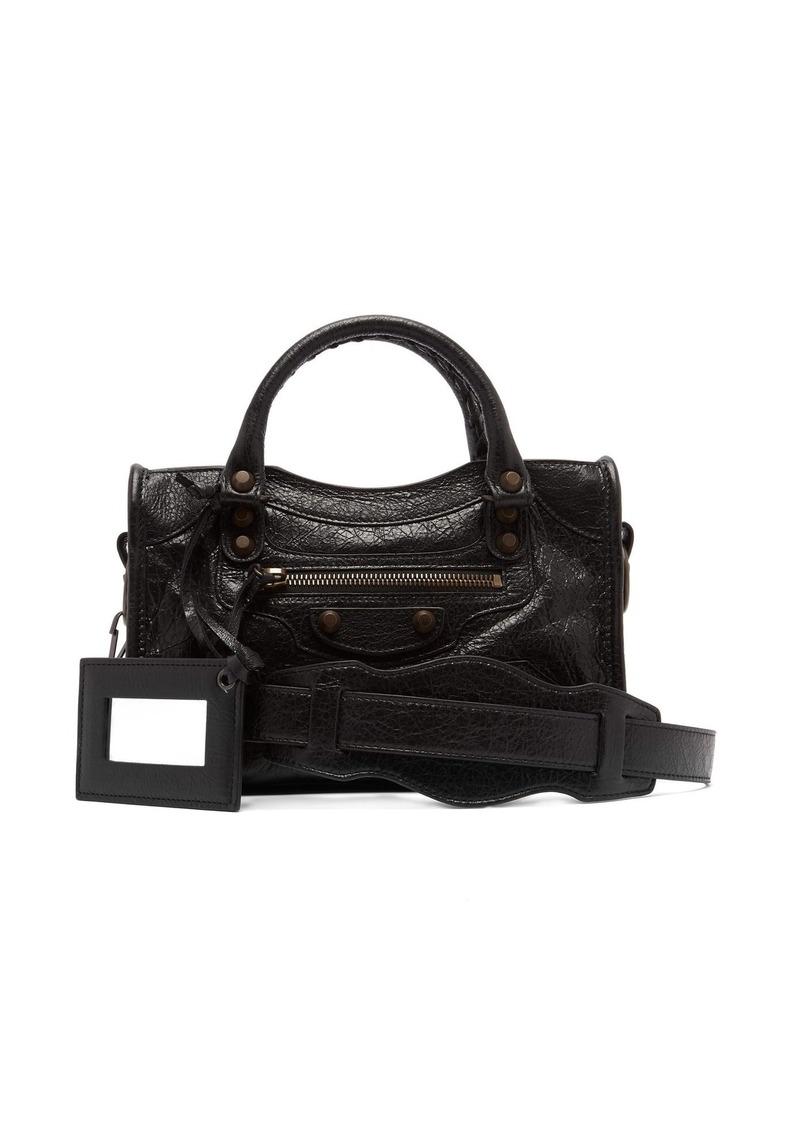 b69eec90fa66 Balenciaga Balenciaga Classic City mini leather bag