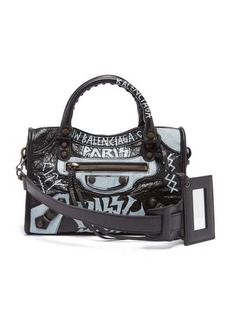 Balenciaga Classic City mini graffiti bag