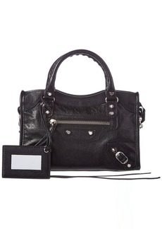 Balenciaga Classic City Mini Leather Shoulder Bag