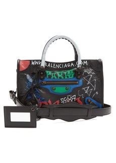 Balenciaga Classic City S bag graffiti