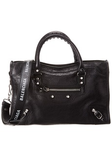 Balenciaga Classic City Small Leather Shoulder Bag