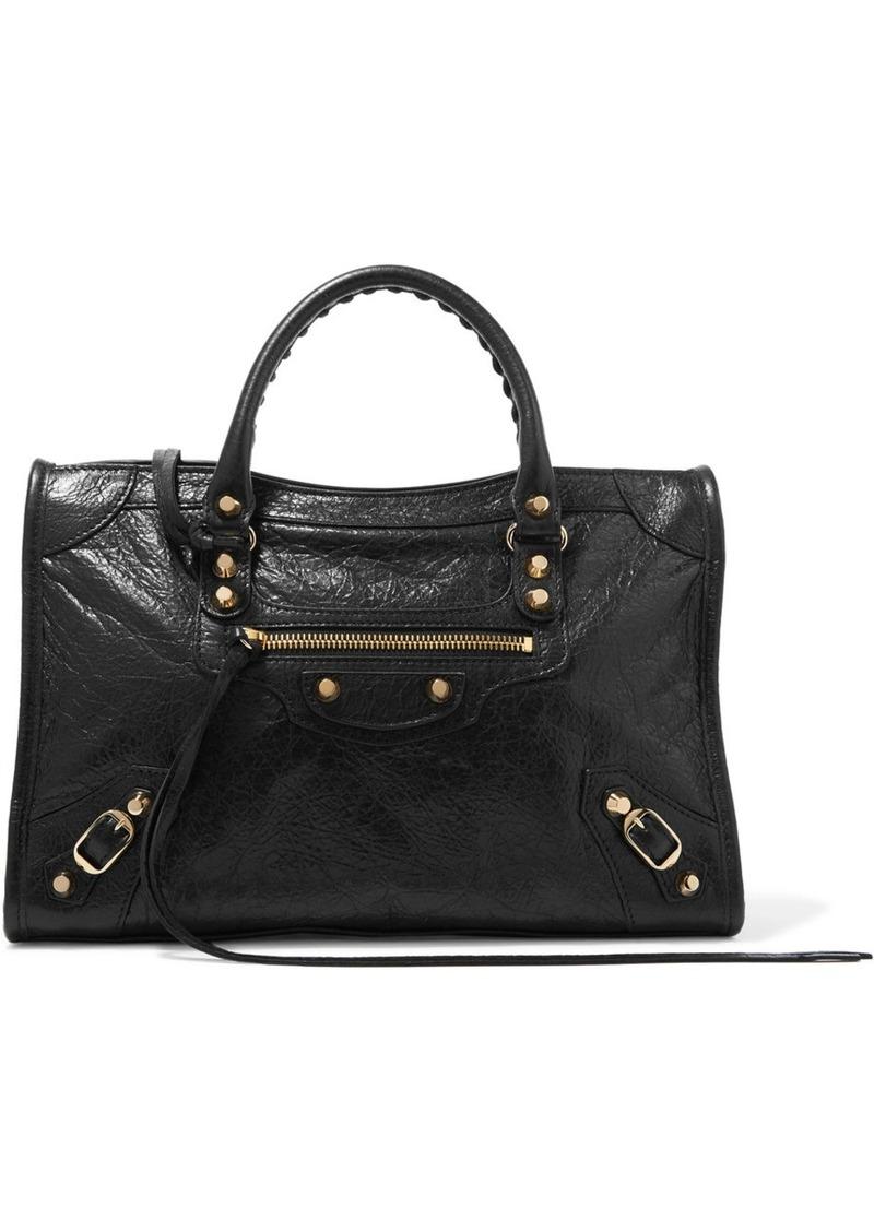 848f236e8932b Balenciaga Balenciaga Classic City small textured-leather tote ...