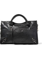 Balenciaga Classic City Textured-leather Tote