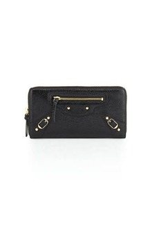 Balenciaga Classic Continental Zip-Around Wallet