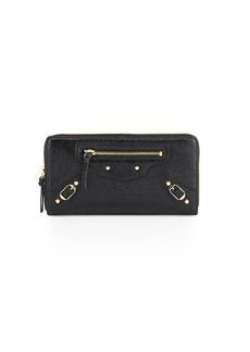 Balenciaga Classic Continental Zip-Around Wallet