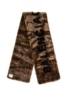 Balenciaga Classic Fake Fur Scarf