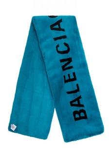 Balenciaga Classic Faux Fur Scarf