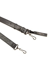 Balenciaga Classic logo-print leather bag strap
