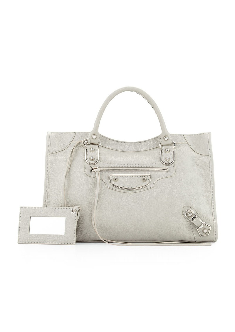 ad412fdf40da Balenciaga Balenciaga Classic Metallic Edge City Bag