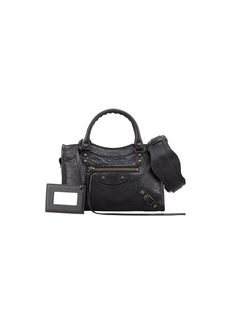 Balenciaga Classic Mini City Bag  Black