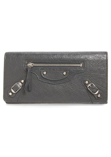 Balenciaga Classic Money Leather Wallet