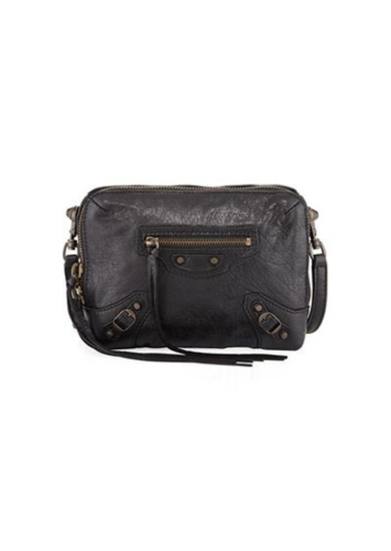 a410fac41b62 Balenciaga Classic Reporter XS Lamb Leather Crossbody Bag