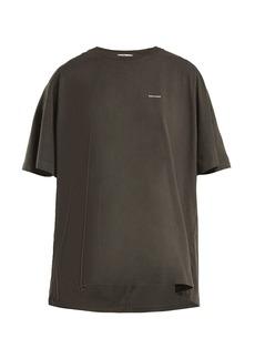 Balenciaga Cocoon copyright-logo cotton-jersey T-shirt