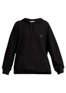 Balenciaga Cocoon logo-embroidered hooded sweatshirt