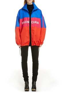 Balenciaga Colorblock Ripstop Windbreaker Jacket