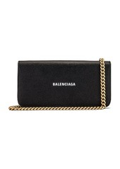 Balenciaga Continental Wallet on Chain Bag