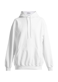 Balenciaga Cotton hooded sweatshirt
