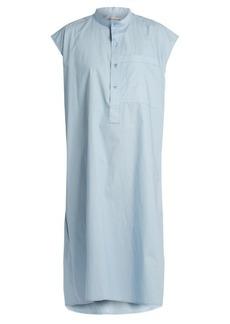 Balenciaga Cotton-poplin sleeveless dress