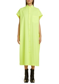 Balenciaga Cotton Shirtdress