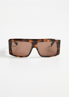 Balenciaga Cover Straight Sunglasses