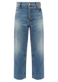 Balenciaga Cropped wide-leg jeans