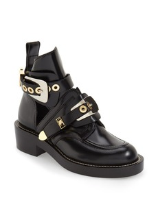 Balenciaga Cutout Buckle Boot (Women)