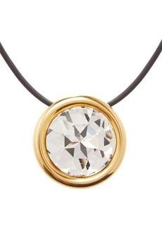 Balenciaga Dallas crystal-pendant necklace