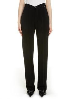 Balenciaga Dip Waist Trousers