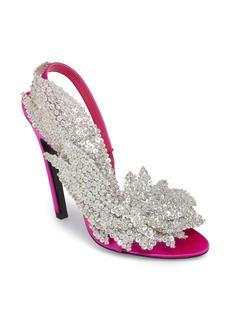 Balenciaga Embellished Slingback Sandal (Women)