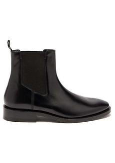 Balenciaga Evening leather chelsea boots