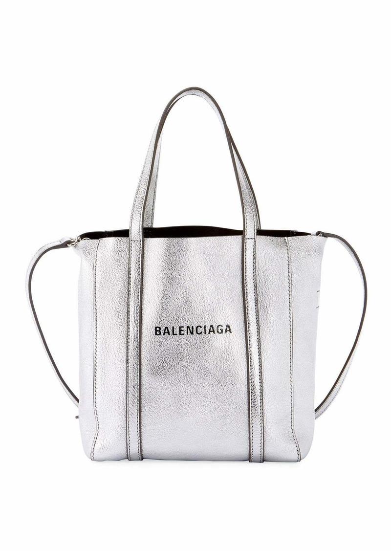 Balenciaga Every Day XXS AJ Metallic Leather Tote Bag