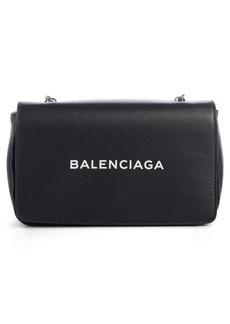 Balenciaga Everyday Calfskin Wallet on a Chain