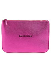 Balenciaga Everyday Leather Pouch