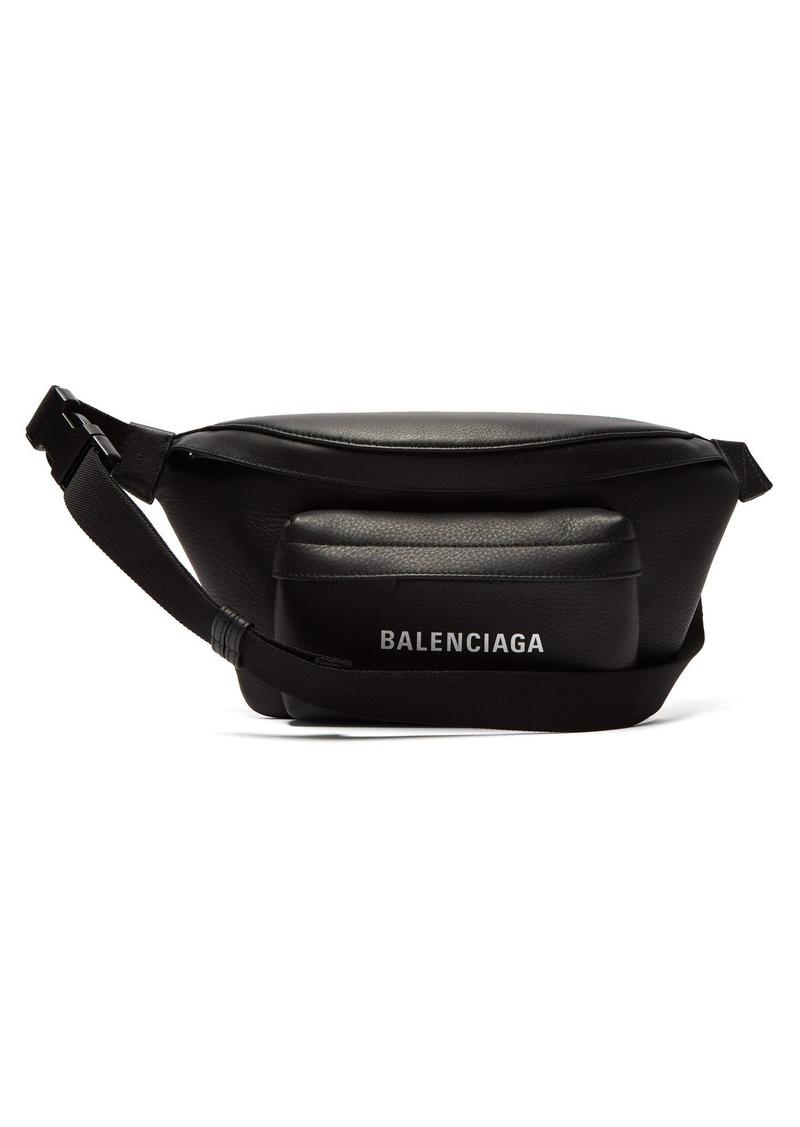 Balenciaga Everyday logo leather belt bag