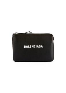 Balenciaga Everyday Logo Pouch Bag