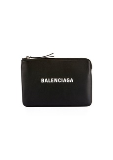 Balenciaga Everyday Logo Pouch Bag