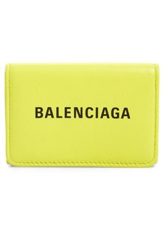 Balenciaga Everyday Mini Leather Wallet