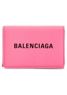 Balenciaga Everyday Mini Leather Wallet