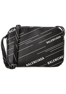 Balenciaga Everyday Small All Over Leather Camera Bag