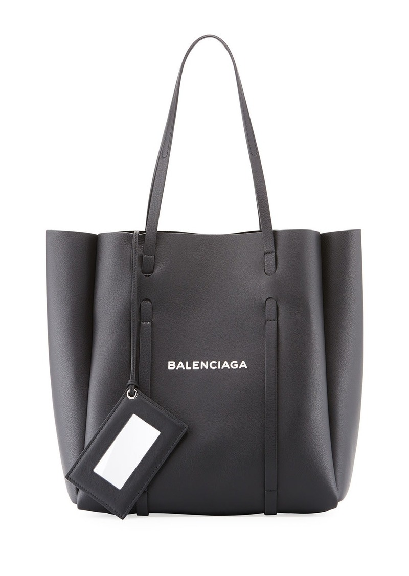 Balenciaga Everyday Small Leather Logo Tote Bag