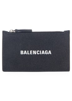 Balenciaga Everyday Zip Leather Card Case