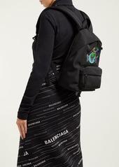 Balenciaga Explorer canvas backpack
