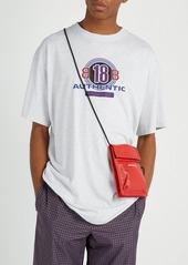 8d891de826 Balenciaga Explorer leather pouch bag Balenciaga Explorer leather pouch bag  ...
