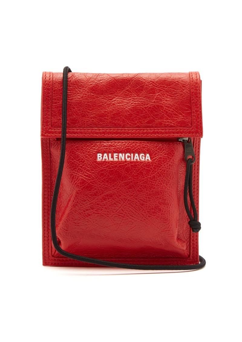 1f31babbf5d Balenciaga Balenciaga Explorer leather pouch bag   Bags