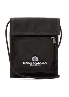 Balenciaga Explorer logo-embroidered cross-body bag