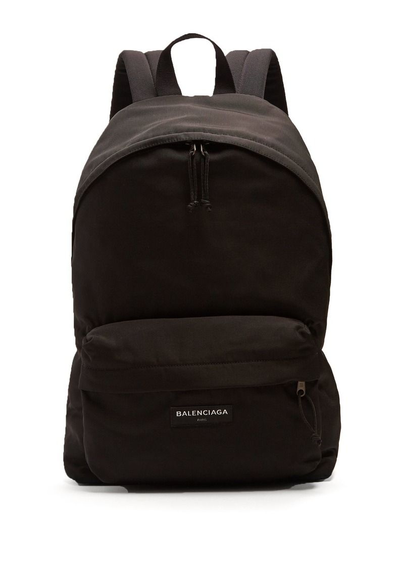 16c210ec7d55 Balenciaga Balenciaga Explorer logo-embroidered nylon backpack